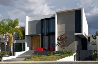 maison contemporaine, Agraz Arquitectos, Mexique