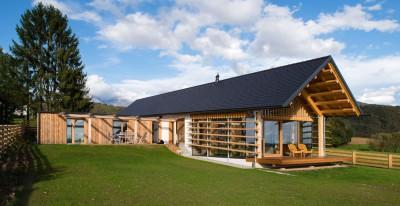 Maison bois par BIRO GASPERIC -  Velesovo, Slovenia
