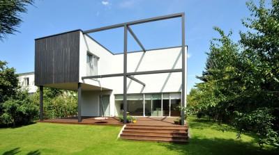 Black Cube House par KameleonLab - Pologne