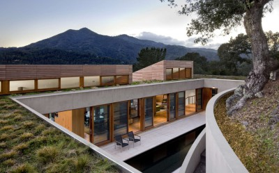 Kentfield Residence par Turnbull Griffin Haesloop Architects - Kentfield, Usa