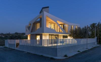 Paradox house par Klab architecture - Athènes, Grèce