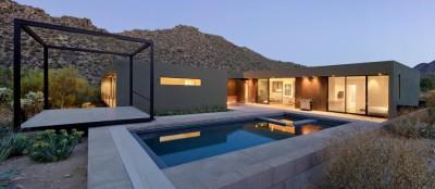 Levin Residence par Ibarra Rosano Design Architects - Marana, Usa