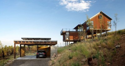 Sunshine Canyon House par Renée del Gaudio Architecture - Boulder, Usa