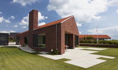 Maison G en brique contemporaine par KRADS - Danemark