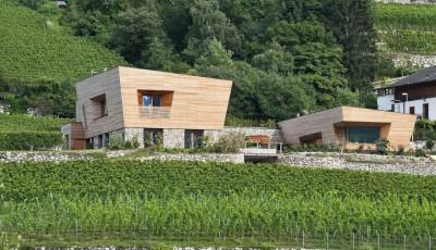 Brunner House par Norbert Dalsass - Italie