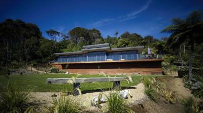 maison bois, maison bois contemporaine, maison contemporaine, studio MWA, Nouvelle Zélande