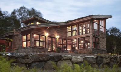 House on Pemaquid Pond par Brisburn - Bremen, Usa