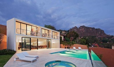 Casa Cardenas par ParqueHumano Valle de Bravo, Mexique