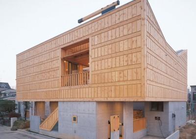LIM GEO DANG par IROJE KHM Architects - JangHangDong, Corée du Sud