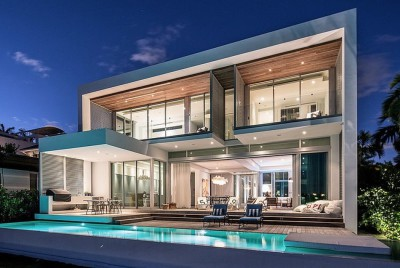 Peribere Residence par Max Strang Architecture - Biscayne Bay, Usa