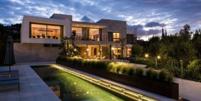 Vivienda en Son Vida par Negre Studio & Rambla 9 Arquitectura - Palma de Majorque, Espagne