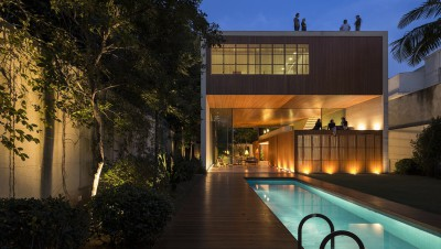 Tetris House par Studio mk27 - São Paulo, Brésil