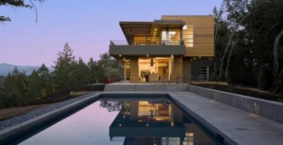 HudsonPanos Residence par Swatt & Miers Architects - Healdsburg, Usa