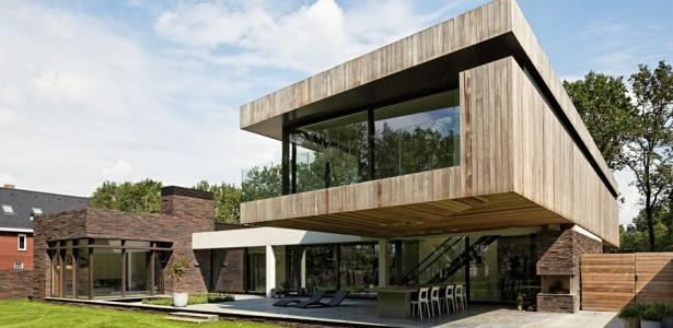 102 heesch par hilberink bosch architecten bosvilla pays bas construire tendance. Black Bedroom Furniture Sets. Home Design Ideas