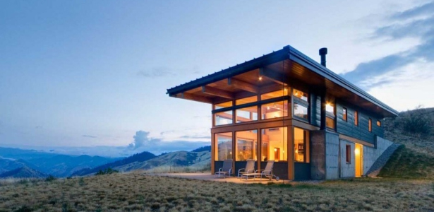 Maison Bois Contemporaine Par Balance Associates Nahahum Canyon Usa Construire Tendance
