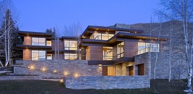 maison bois et pierre contemporaine par marmol radziner. Black Bedroom Furniture Sets. Home Design Ideas