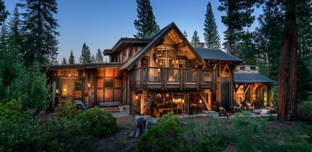 The cabin austin chalet par walton architecture martis camp usa construi - Chalet contemporain en bois ...