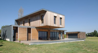 Maison l'Estelle par François Primault architecte - Moirax, France