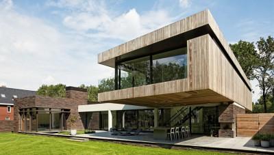 102 Heesch par Hilberink Bosch Architecten - Bosvilla, Pays-Bas