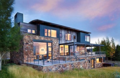 Contemporary Western par Hoyt Architects & CTA Group - Usa