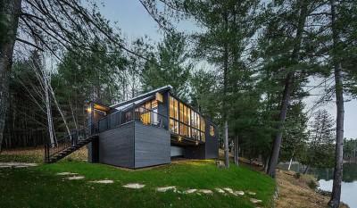 La Peche Cottage par Kariouk & Associates - Québec, Canada