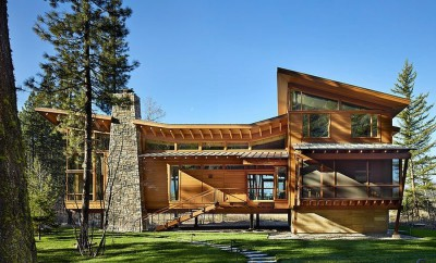 Mazama House par FINNE Architects - Methow Valley, Usa