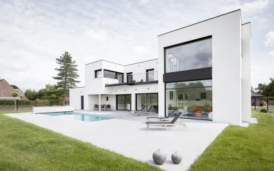 Villa contemporaine par Atelier Form - Mérignies (59) France