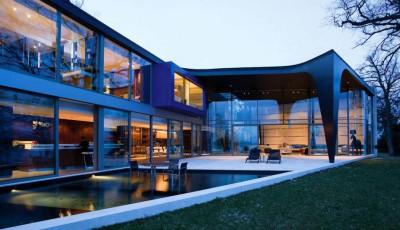 Villa contemporaine afro-européenne par Saota - Genève, Suisse