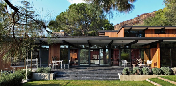 La ca ada residence par jamie bush co sierra madre usa construire tendance for Maison moderne canada