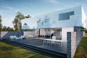 Christ construire tendance - La contemporaine villa k dans les collines de nagano au japon ...
