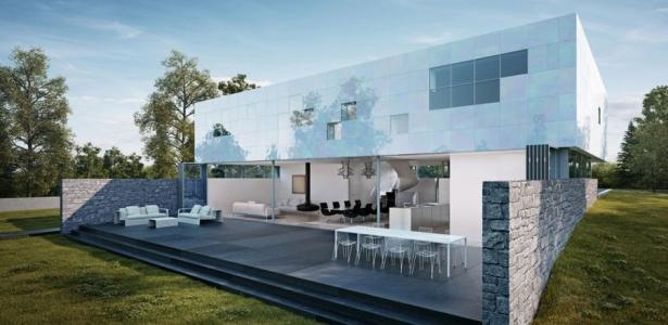 facade maison originale ventana blog. Black Bedroom Furniture Sets. Home Design Ideas