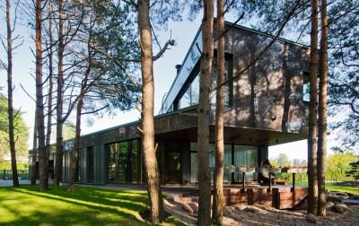 Modern Family House par 4PLIUS Architects - Vilnius, Lituanie