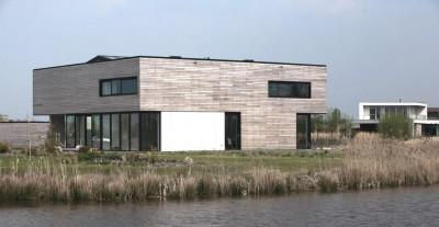 rivate Villa par Engel Architecten - Blauwestad, Pays-Bas