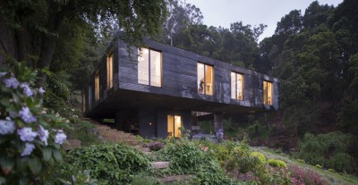 maison contemporaine, maison béton, Chili, Pezo von Ellrichshausen
