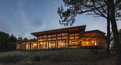 Long Dune Residence par Hammer Architects - Truro, Usa