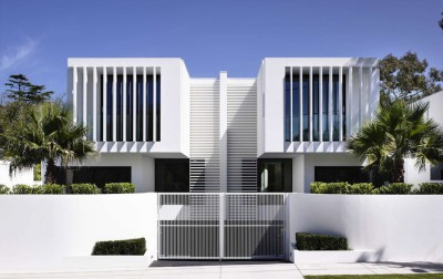 Bayside townhouses par Martin Friedrich architects - Melbourne, Australie