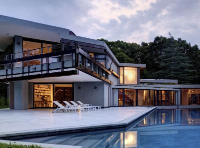 Sayres House and Hanging Gardens par Maziar Behrooz Architecture - East Hampton, Usa