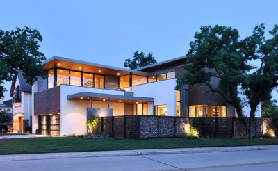 Underwood House par StudioMET - Houston, Usa