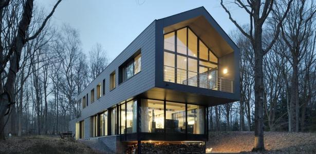 sous bois par luc spits architecture liege belgique construire tendance. Black Bedroom Furniture Sets. Home Design Ideas