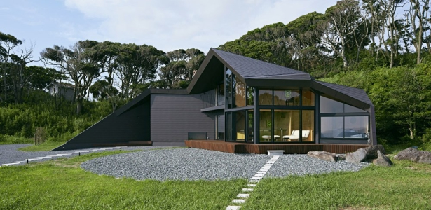 Villa escargot par takeshi hirobe architects chiba - La maison wicklow hills par odos architects ...