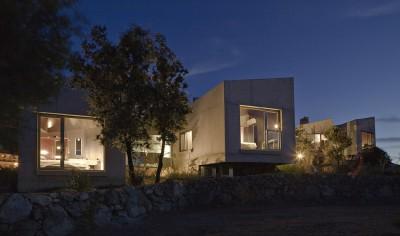2 maisons contemporaines par Bona-Lemercier -  Monticello, France