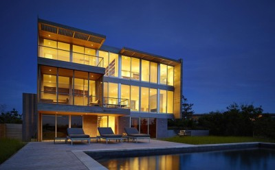Cove Residence par Stelle Lomont Rouhani Architects - Hamptons, Usa