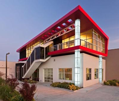Flute house par The Think Shop Architects - Royal Oak , Usa