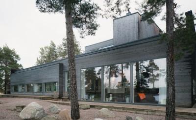 maison bois contemporaine par Gabriel Minguez - Ingarö, Suède