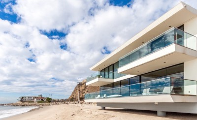 villa contemporaine à Malibu, Usa