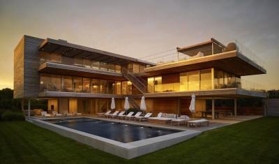 Ocean Deck House par Stelle Lomont Rouhani Architects - Bridgehampton, USA