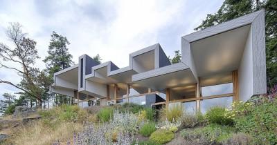 Ridge House par Marko Simcic et Brian Broster - Pender Island, Canada