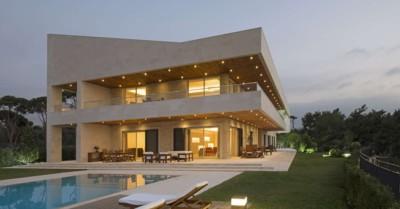S House, villa contemporaine par  Joe Ingea Architects - Liban