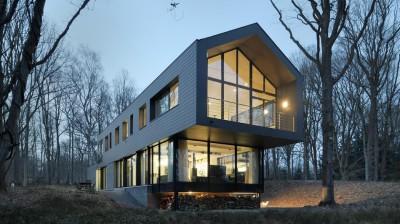 Sous-bois par Luc Spits Architecture - Liege, Belgique