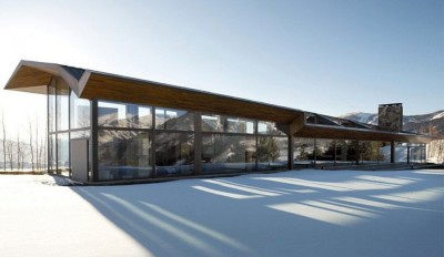 Wildcat Ridge residence par Voorsanger Architects - Aspen, Usa